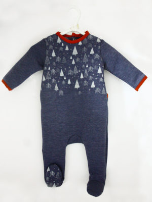 Pyjama dors bien bébé made in france mixte