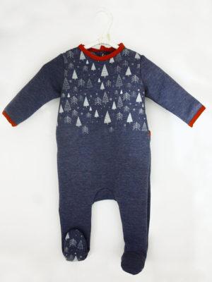 Pyjama dors bien bébé made in france mixte