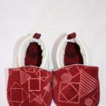 chaussons bébé cuir kapoune