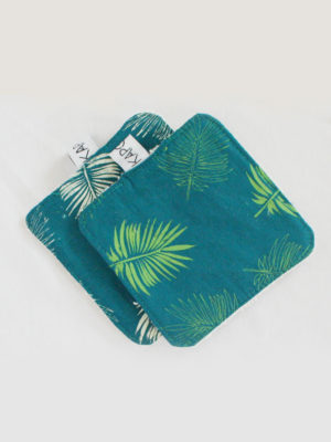 lingettes lavables kapoune tropical