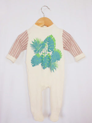 pyjama dors bien bébé tropical made in france