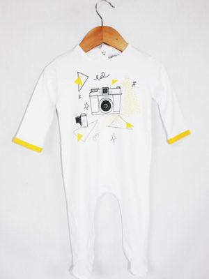 Pyjama dors bien bébé made in france motif