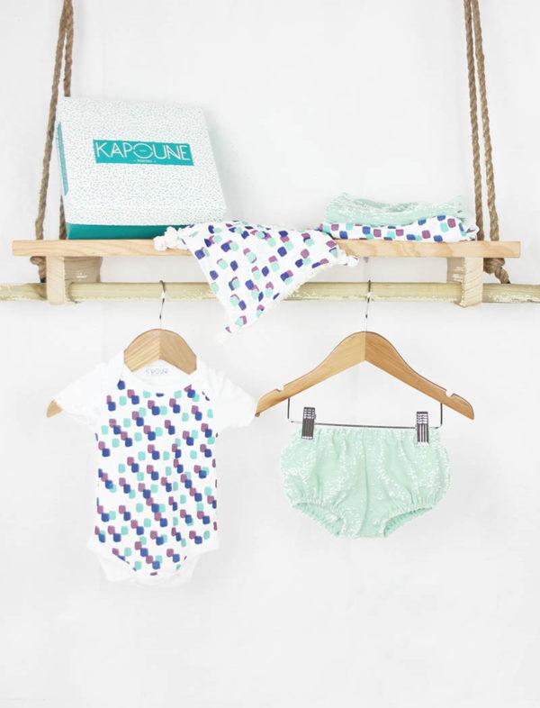 coffret de naissance vêtements bébé made in france