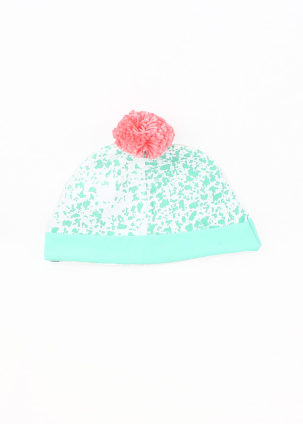 bonnet bébé made in france pompom