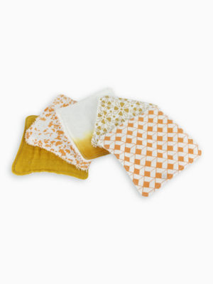 lingettes lavables coton bébé made in france zéro déchet