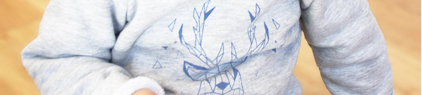 sweat bebe original made in france