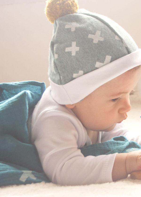 bonnet bébé kapoune hiver créateur orignal made in france nantes