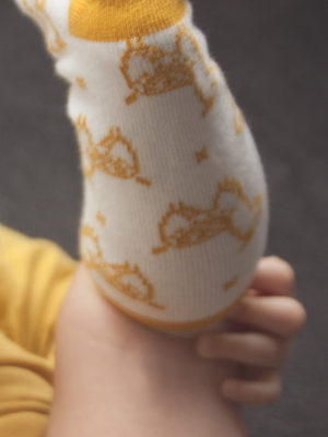 chaussette bébé lima kapoune made in france