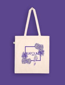 impression textile tote bag logo personnalisé nantes kapoune