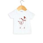Tee-shirt bébé coton biologique