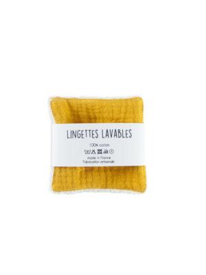 lingettes lavables démaquillantes zéro déchet coton bio made in france nantes