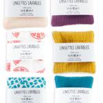 lingettes lavables démaquillante coton bio