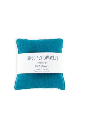 lingettes lavables démaquillantes zéro déchet made in france nantes slow cosmetics coton biologique bio bébé nantes