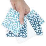 lingettes lavables demaquillantes pour bébé