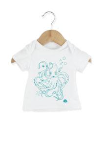 Tee-shirt bébé en coton biologique