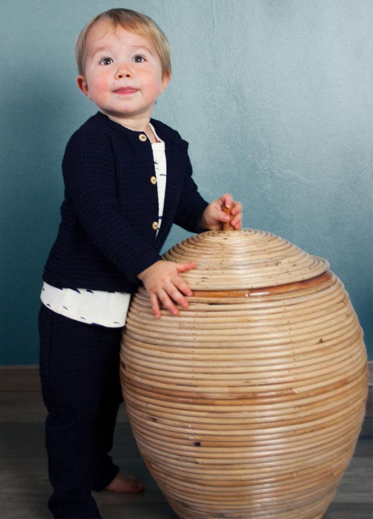 sarouel bébé enfant coton bio