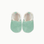 chaussons-bebe-cuir-souple-made-in-france-menthe