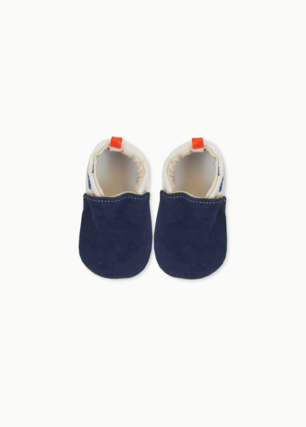 chaussons-bebe-cuir-souple-marine-made-in-france-original
