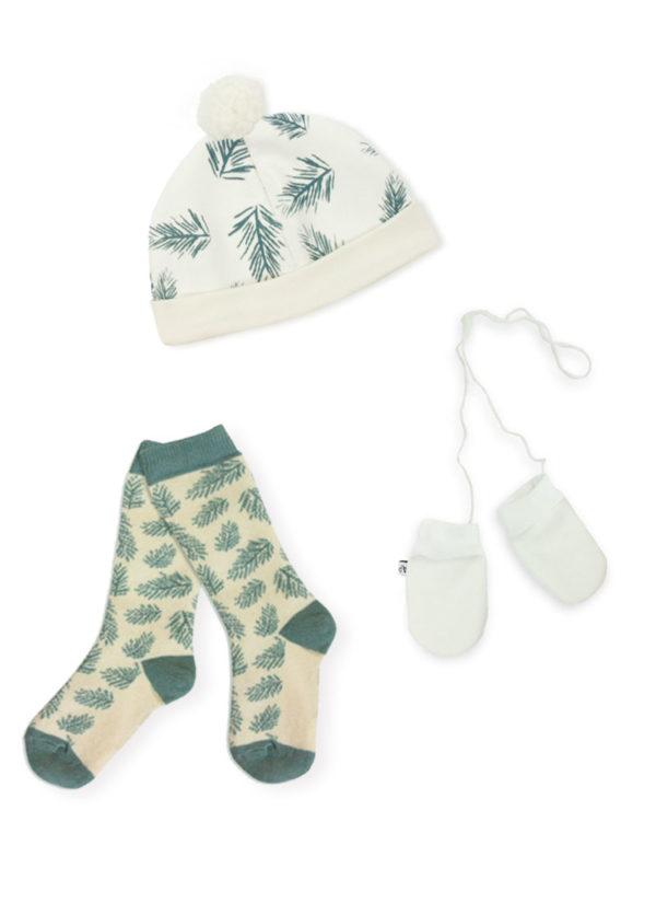 coffret naissance accessoires pour bébé made in France cypres