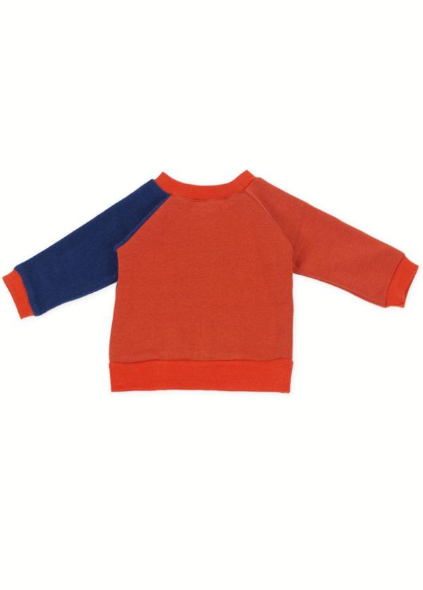 sweat bébé pull enfant coton bio bi matière made in france kapoune