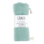 lange bébé coton bio made in france kapoune menthe