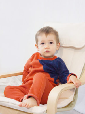 sarouel enfant pantalon bébé made in france kapoune brique