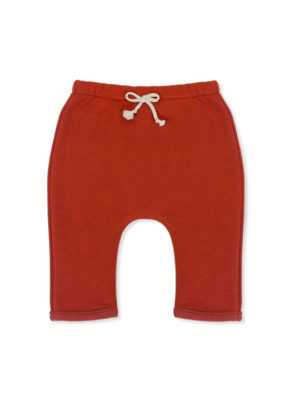 sarouel bébé pantalon enfant made in france brique kapoune