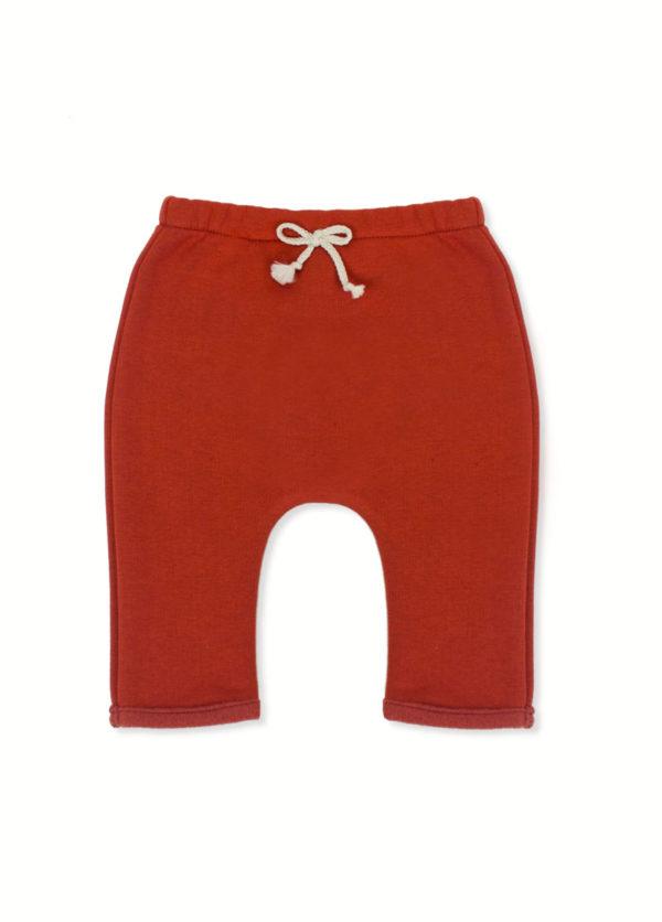 sarouel bébé pantalon enfant made in france brique kapoune