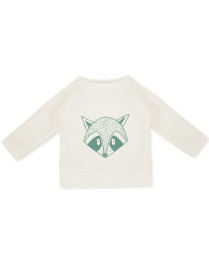 sweat bébé pull enfant coton bio made in france kapoune imprimé