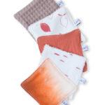 lingettes lavables coton bio zero dechet