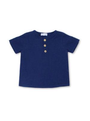 t shirt bébé original marine