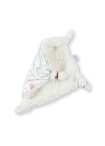 doudou plat bébé coton bio carré made in france kapoune nantes accessoires bébés