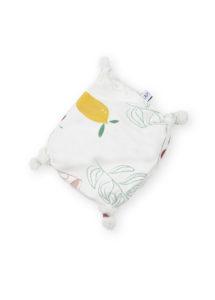 doudou plat bebe coton bio made in france
