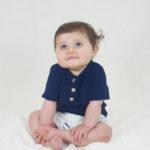 blouse bébé originale marine