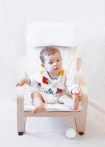 short bébé made in france écru