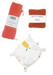 coffret kit naissance cadeau bébé accessoires briquee