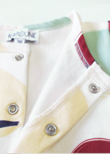 cardigan bebe enfant coton bio made in france