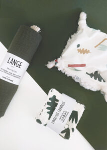 kit coffret cadeau naissance kaki