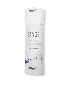 lange 70 double gaze bébé coton bio imprimé made in france