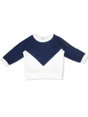 sweat pull bebe unisex made in france bi matiere