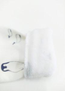 sweat bébé pull enfant détail coton bio molleton made in france