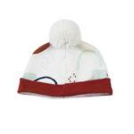 bonnet bebe kapoune pompon made in france