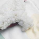 doudou plat bébé kapoune made in france coton bio original