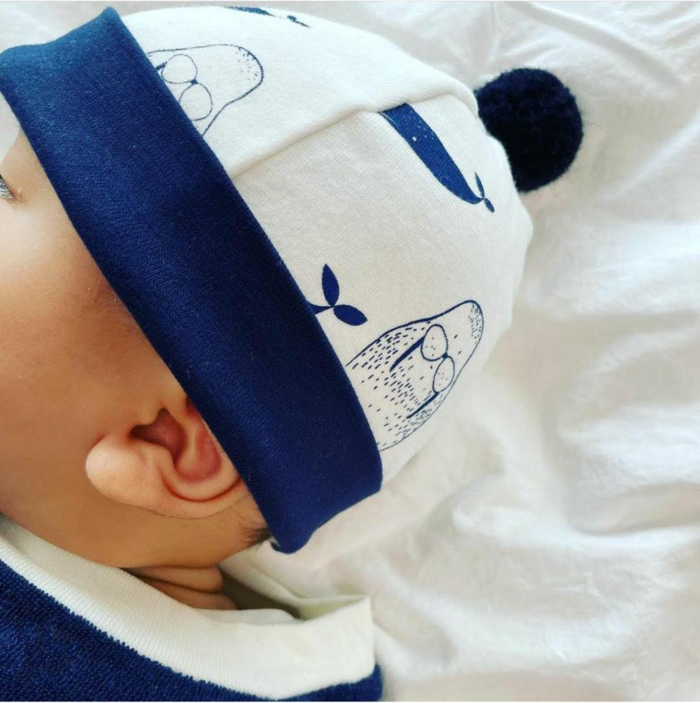 bonnet bébé naissance hiver coton bio kapoune