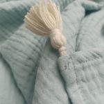 lange bebe coton bio menthe made in franc gots