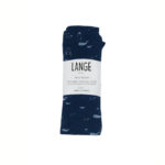 lange bebe bio original made in france marine