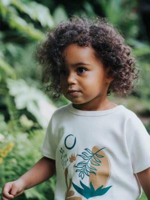 t-shirt pour bebe et enfant unique