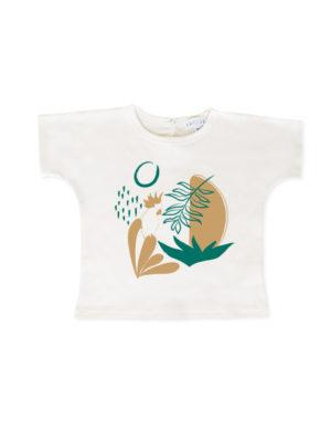 t-shirt pour bebe et enfant coton bio motif