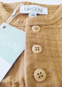 blouse bébé enfant tee shirt coton bio