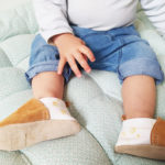 chaussons bébé cuir souple fabrication française kapoune premiers pas